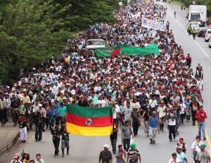 Minga Indígena y Popular